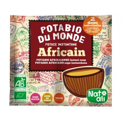 Potage instantané africain BIO - sachet 2x8.5g