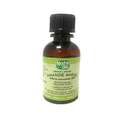 Arôme naturel BIO saveur amandes amères 30ml