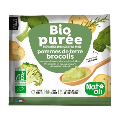 Bio purée - Préparation en flocons pour purée de pommes de terre - brocolis