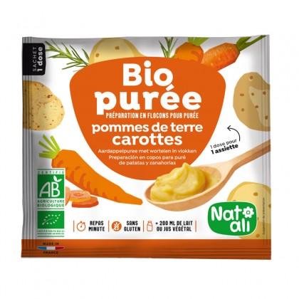 Bio purée - Préparation en flocons pour purée de pommes de terre - carottes