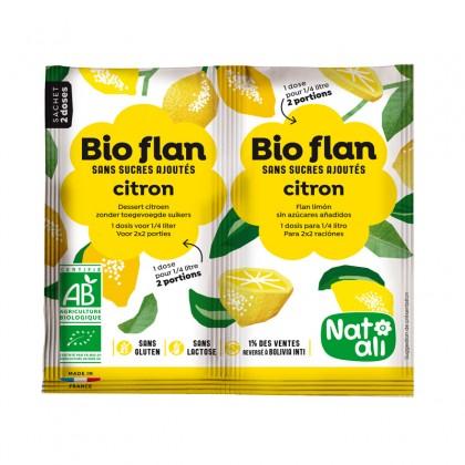 Préparation en poudre pour entremets citron sans sucres ajoutés - sachet 2x3.5g
