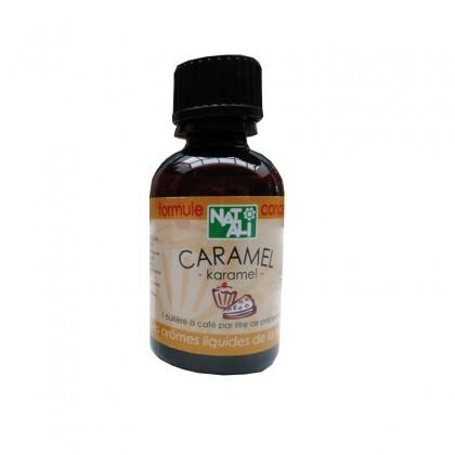 Arôme naturel caramel BIO 30ml